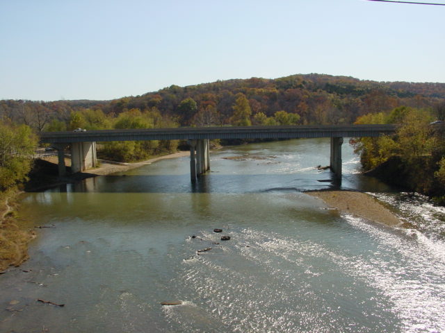 9 Eureka Looking Upstream