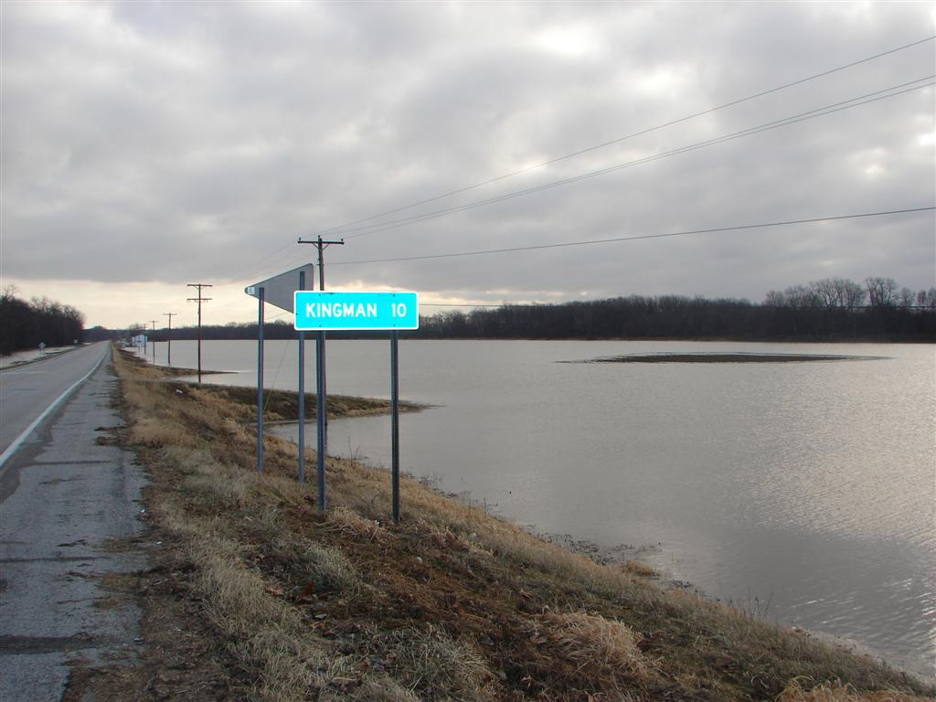 Wabash River Map 63 flooded by Wabash River