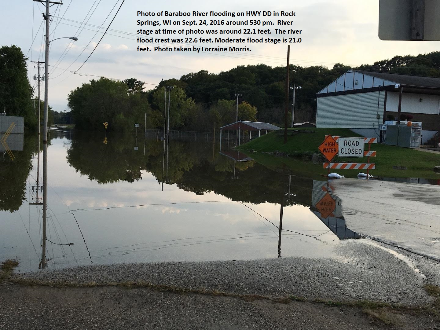 Rock Springs Wi >> National Weather Service Advanced Hydrologic Prediction Service