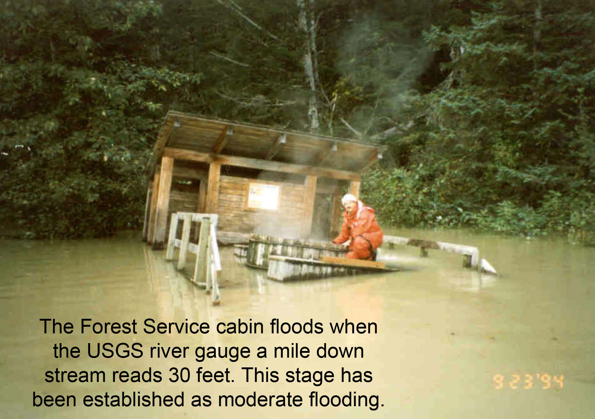National weather service advanced hydrologic prediction for National forest service cabins