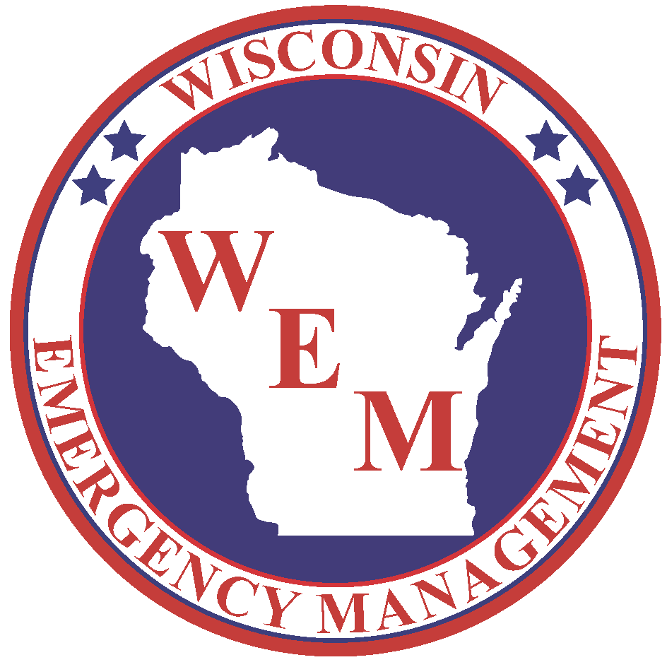 Maps produced in cooperation with the Wisconsin Department of Emergency Management