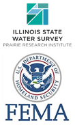 Maps produced in partnership with the Illinois State Water Survey.