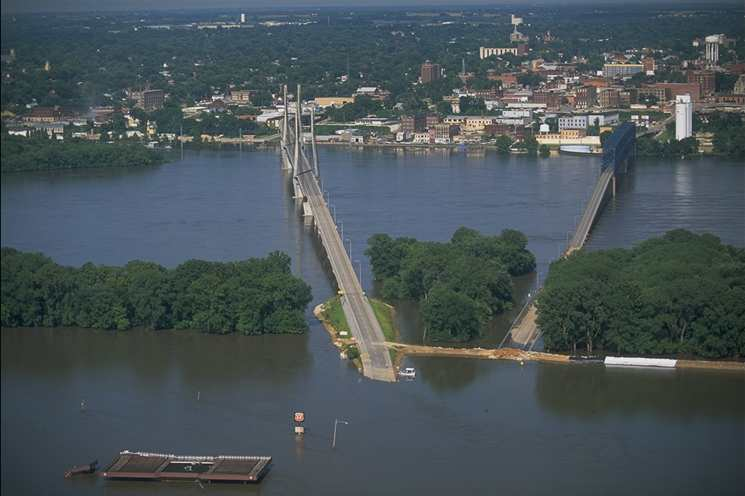 (1) Quincy During 1993 Flood