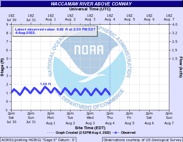 Waccamaw River above Conway