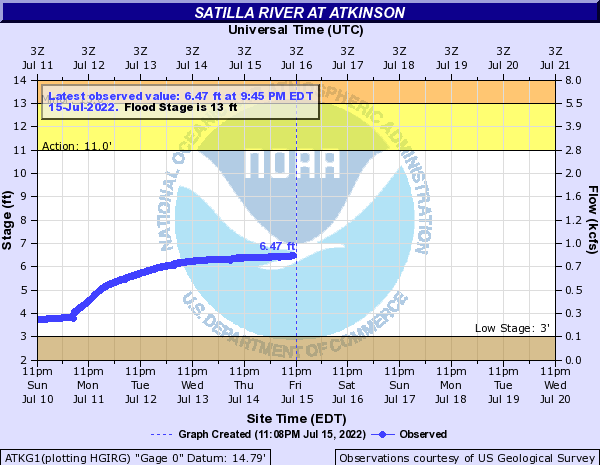 Satilla River at Atkinson