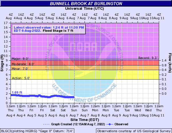 Bunnell Brook at Burlington