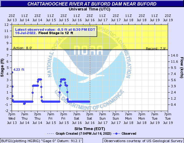 Chattahoochee River near Buford