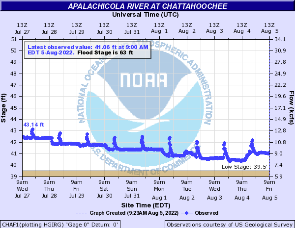 Apalachicola River at Chattahoochee