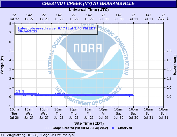 Chestnut Creek (NY) at Grahamsville