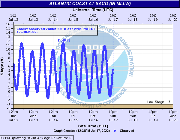 Atlantic Coast at Saco