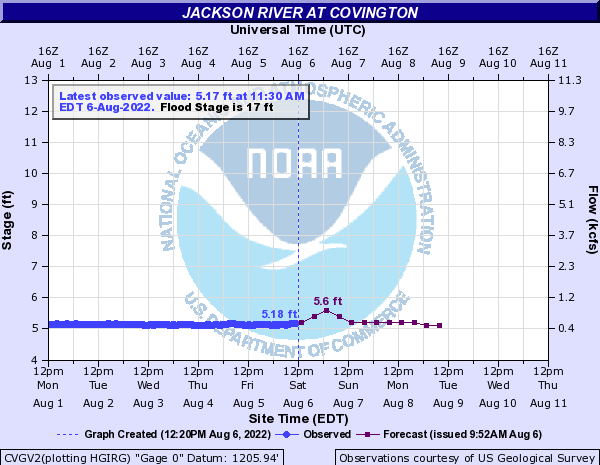 Jackson River at Covington