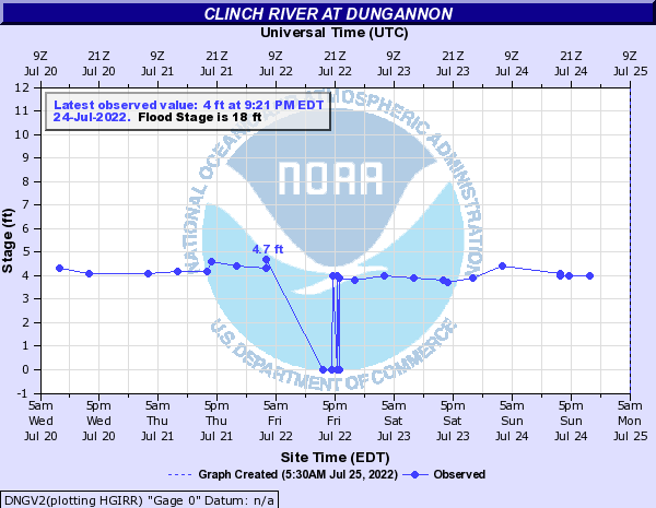 Clinch River at Dungannon