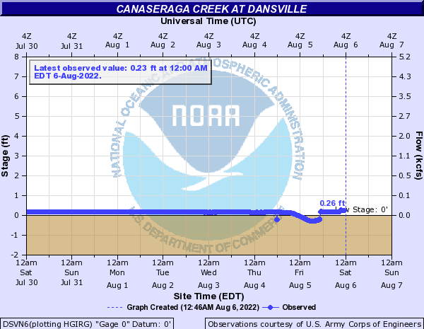 Canaseraga Creek at Dansville