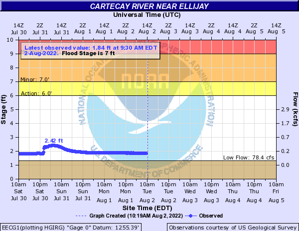 Cartecay River near East Ellijay
