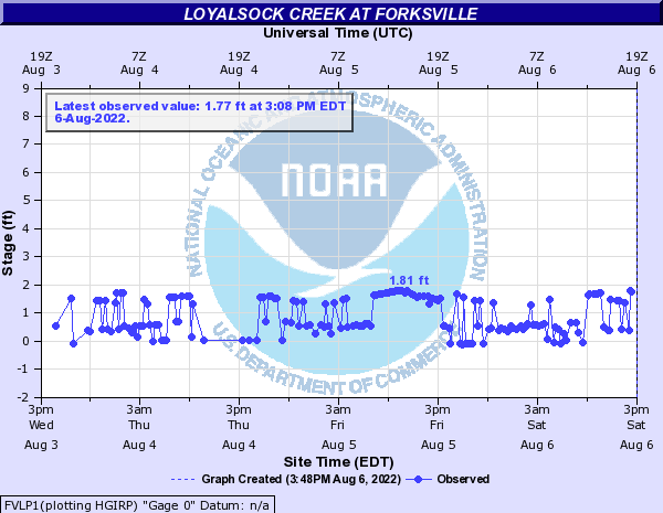 Loyalsock Creek at Forksville