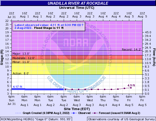 Unadilla River at Rockdale