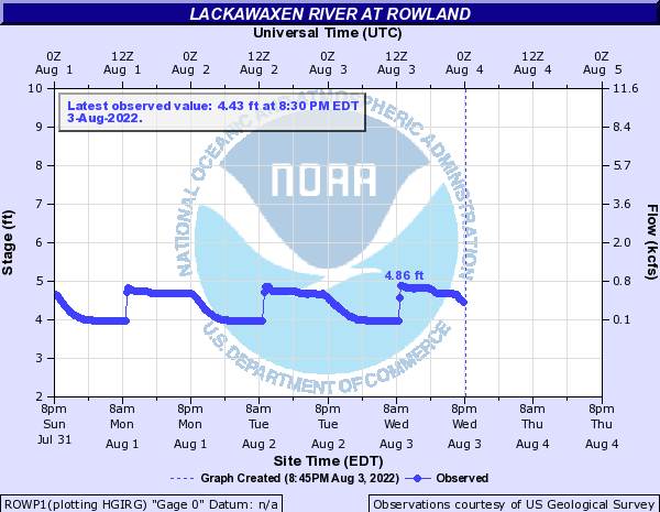 Lackawaxen River at Rowland