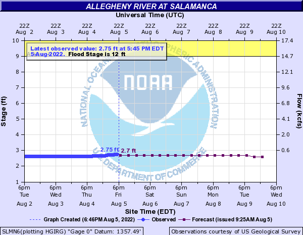 Allegheny River at Salamanca