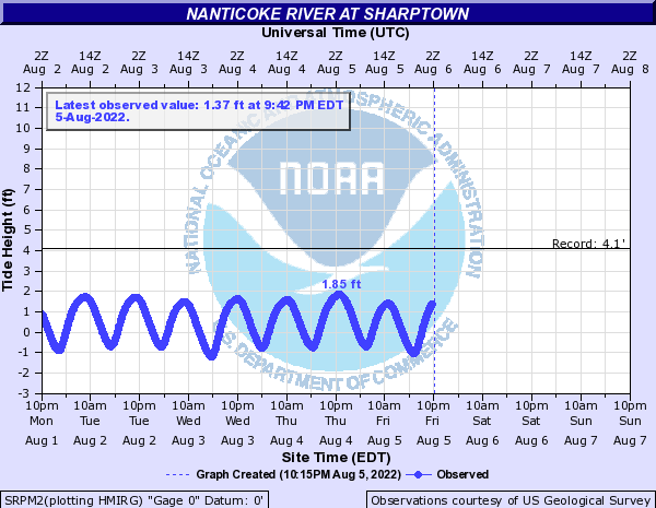 Nanticoke River at Sharptown