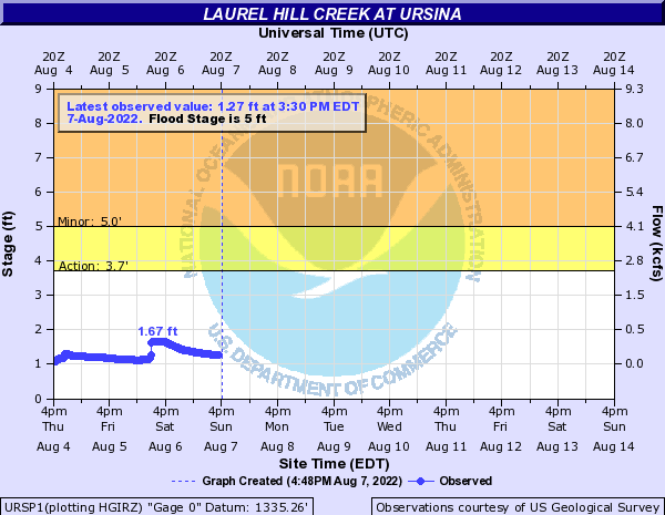 Laurel Hill Creek at Ursina
