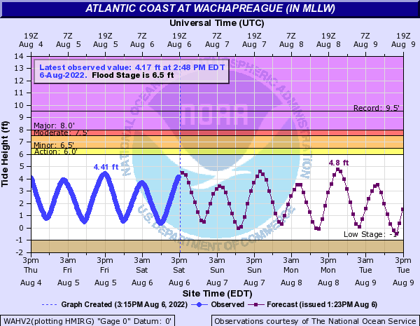Atlantic Coast at Wachapreague